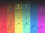 K & M Rainbow Music Stand - Various Colors