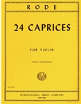 Rode - 24 Caprices for Violin (Galamian)