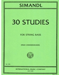 Simandl - 30 Etudes for The String Bass